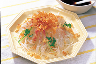 中華風お刺身サラダ