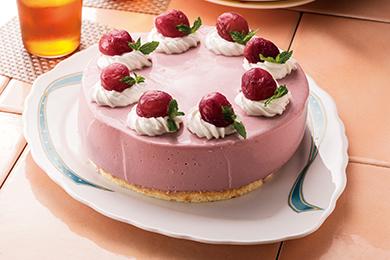 ぶどうのムースケーキ