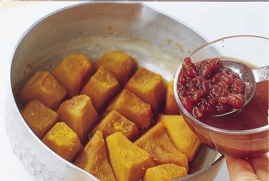 かぼちゃの小倉煮