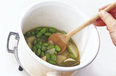 枝豆の冷製ポタージュ