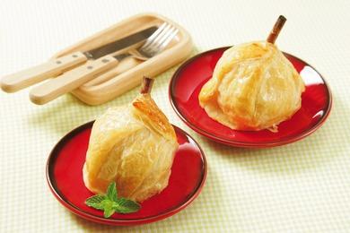 丸ごとりんごのパイ包み