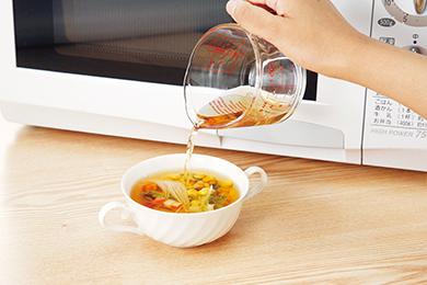 朝食スープ