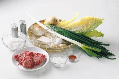 れんこん団子の白菜鍋