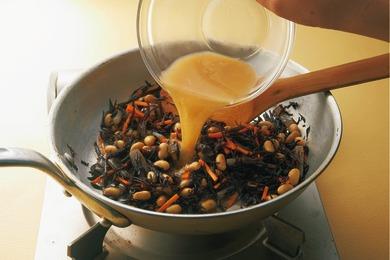 ひじきの味噌煮
