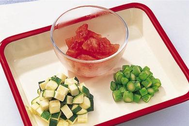 夏野菜のリゾット