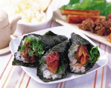 スタミナ手巻き寿司
