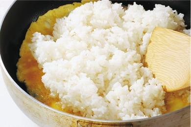 ツナと高菜の炒飯