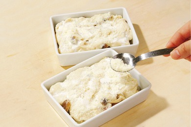 里芋ときのこの豆乳グラタン