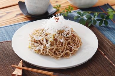 ピリ辛焼き蕎麦