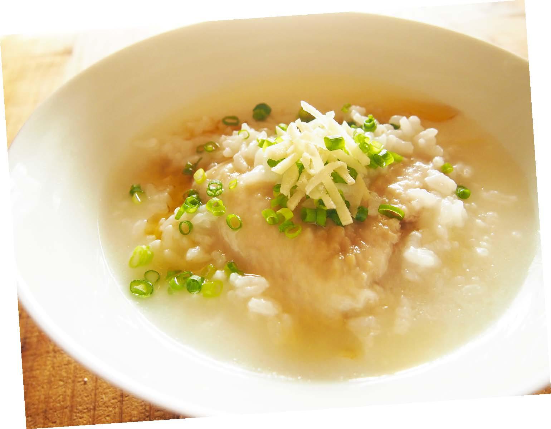 手羽先の中華粥
